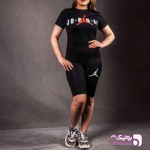 تیشرت و شلوارک jordan زنانه - تی شرت زنانه