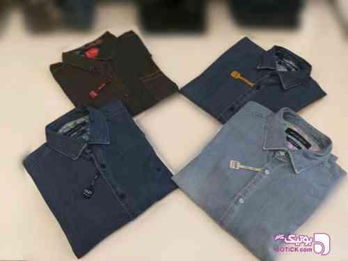 پیراهن جین مردانه - پيراهن مردانه
