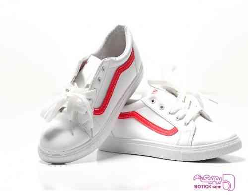کفش اسپرت سفید دخترانه جدید سفید 98 2019