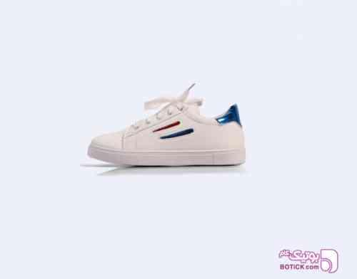 کفش سفید اسپرت دخترانه شیک سفید 98 2019