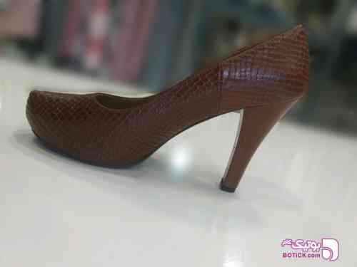 کفش چرم پوست ماری  - كفش زنانه