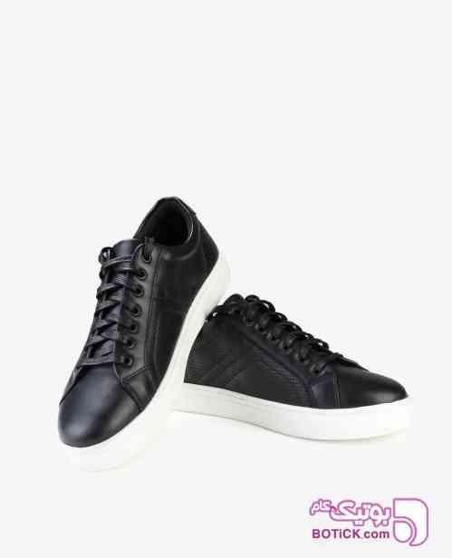 کفش اسنیکرز مردانه Jack&Jones مدل 5164 مشکی 98 2019