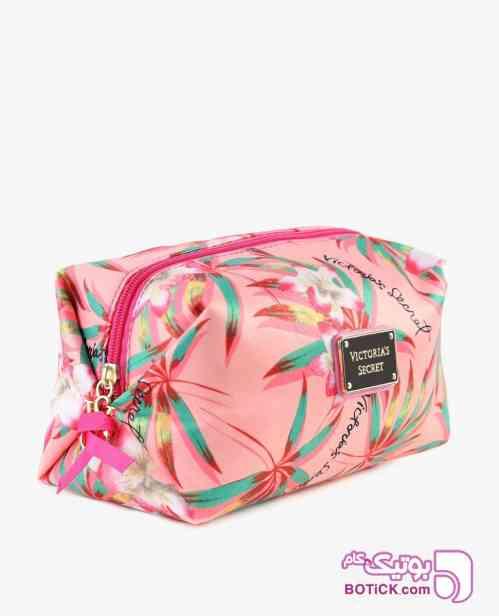 کیف آرایشی Victoria's Secret مدل 8003 صورتی 98 2019