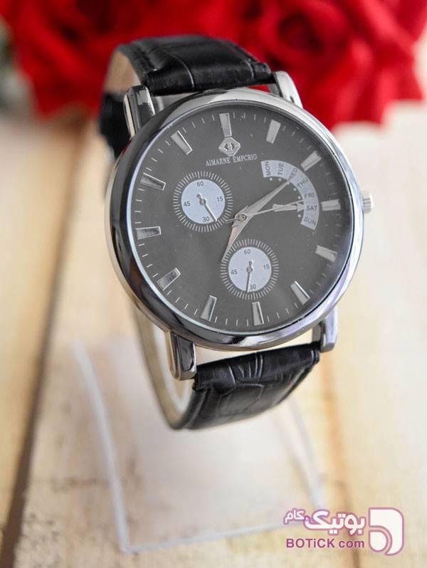ساعت مچی EMPRORIO مدل 3695  مشکی ساعت