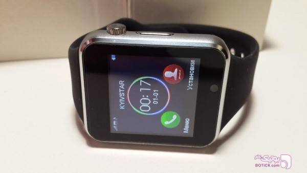ساعت هوشمند جی-تب G-Tab زرد ساعت