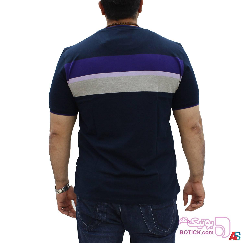 تی شرت سایز بزرگ کد محصول hutk108 سفید سایز بزرگ مردانه