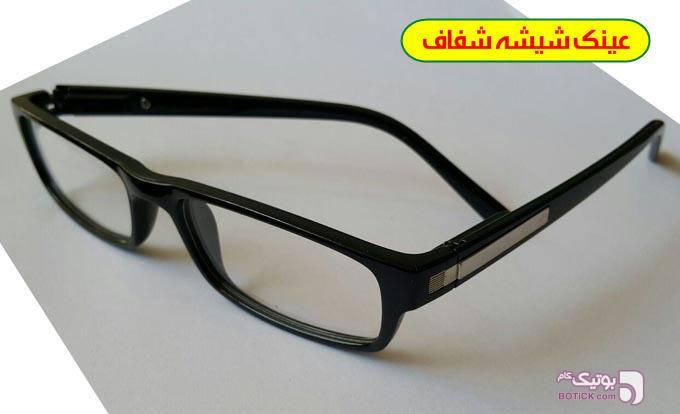 عینک طبی مخصوص کامپیوتر وتبلت آنتی رفلکس مشکی عینک طبی