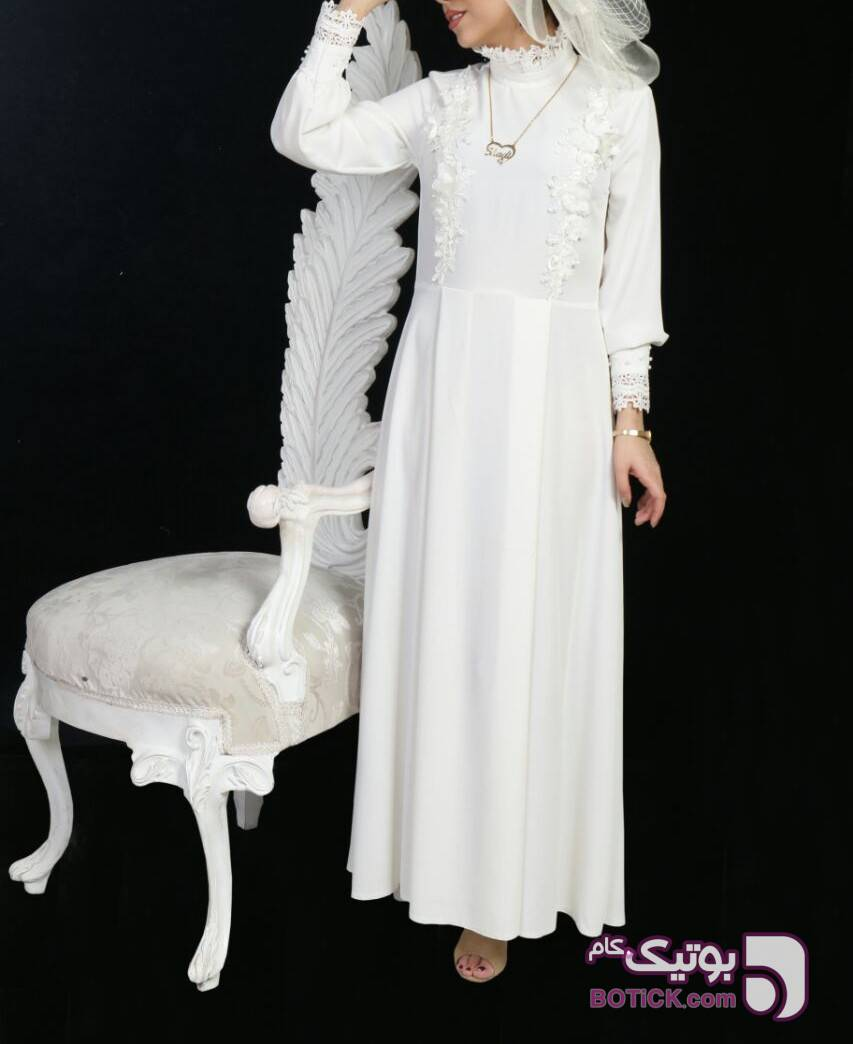 مانتو عقد مدل مهسان مشکی لباس عروس