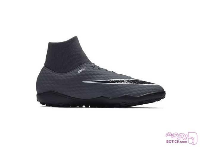کفش فوتبال چمن مصنوعی مردانه نایکی مدل Nike AH7276-081 طوسی كتانی مردانه