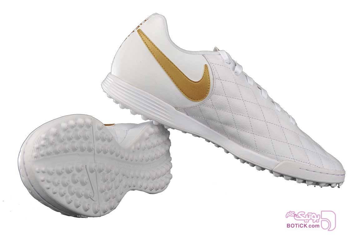 کفش فوتبال چمن مصنوعی مردانه نایک مدل Nike AQ2218-171 سفید كتانی مردانه