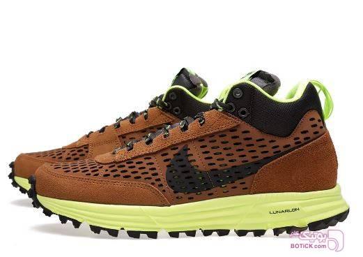 کفش و کتونی مردانه اسپرت نایک  مدل NIKE 599471-200 قهوه ای كتانی مردانه