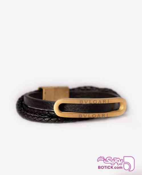 دستبند چرم Bvlgari کد 5808 - دستبند و پابند