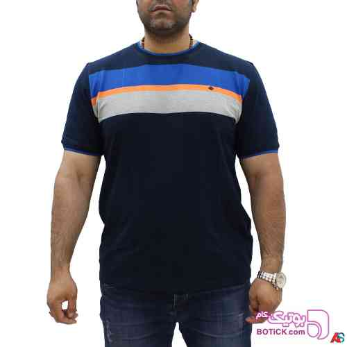تی شرت سایز بزرگ کد محصول hutk107 سفید 98 2019