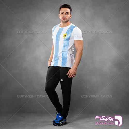 ست تیشرت و شلوار Argentina مدل Gelad مشکی 98 2019