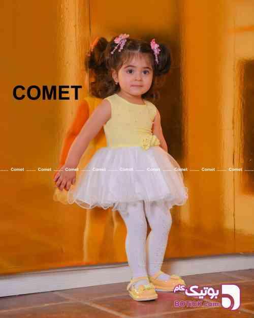 پیراهن مجلسی شبنم - لباس کودک دخترانه