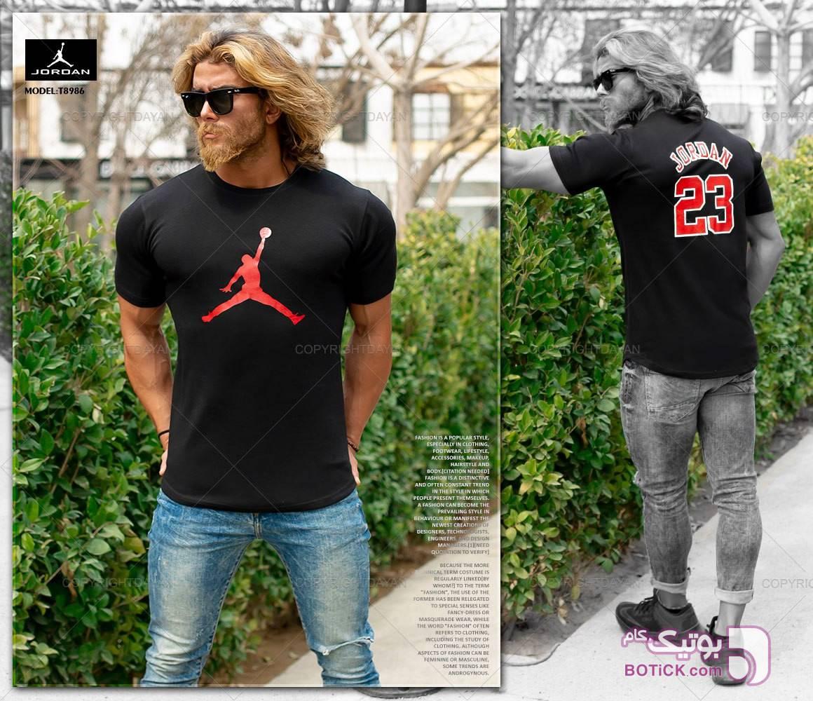 تیشرت مردانه جردن مشکی تی شرتو پولو شرت مردانه