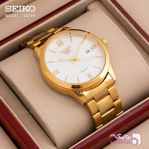 ساعت مچی مردانه Seiko مدل 10294 طلایی ساعت