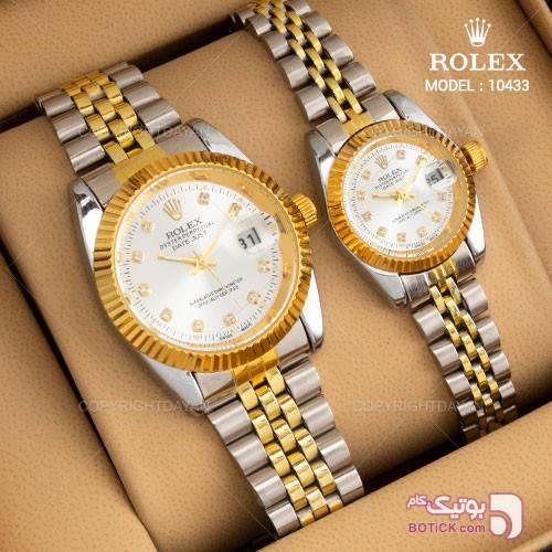ست ساعت مچی Rolex مدل 10433 نقره ای ساعت