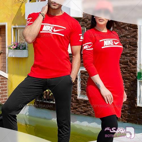 ست دونفره Nike مدل C9191 قرمز ست زوج و خانواده