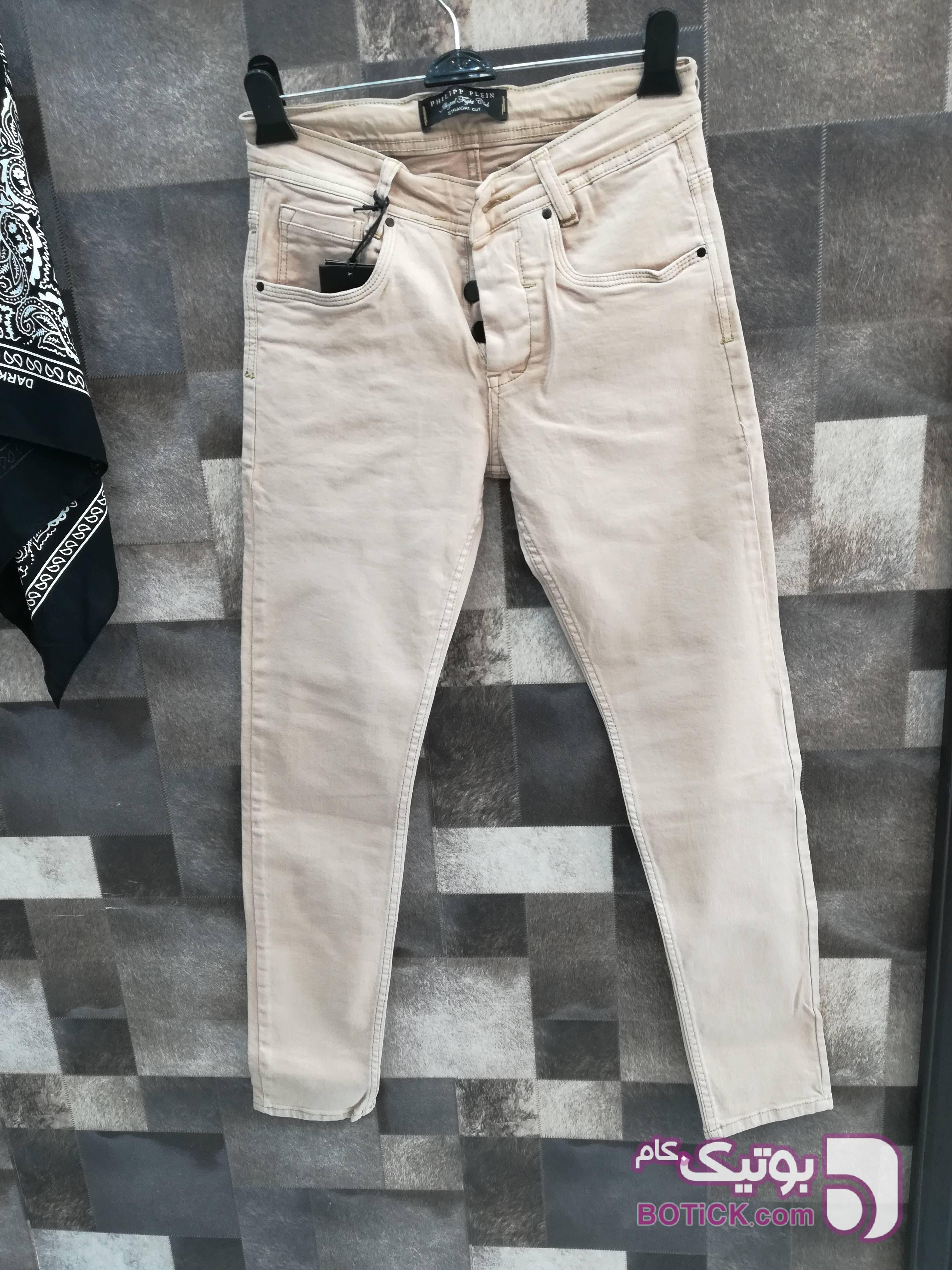 شلوار جین پنبه پنبه درجه یک کرم شلوار مردانه پارچه ای و کتان مردانه