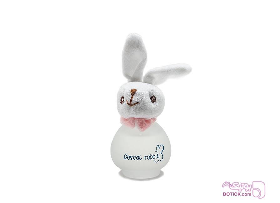 ادکلن بچه گانه عروسکی مدل خرگوش  سفید عطر و ادکلن