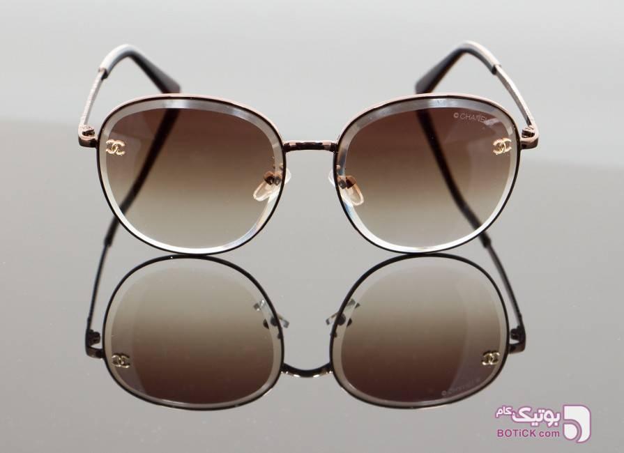 عینک آفتابی زنانه شنل مدل Chanel CH8021 سفید عینک آفتابی