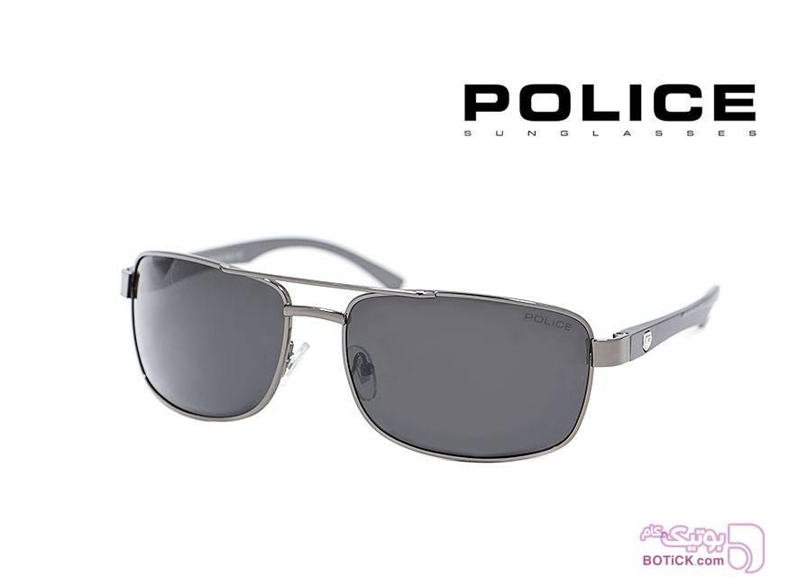 عینک آفتابی پلیس POLICE کد 6830 سفید عینک آفتابی