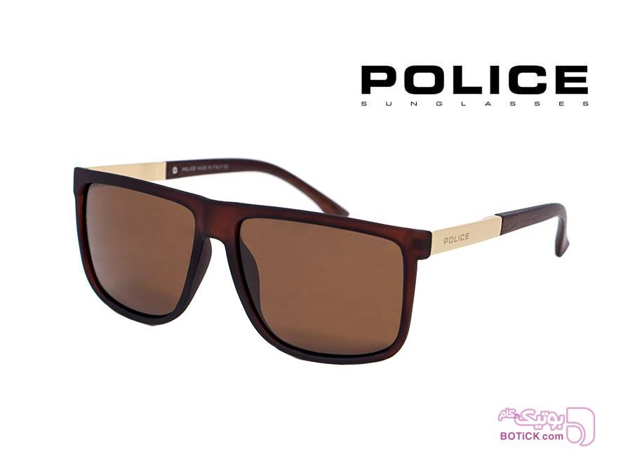 عینک آفتابی پلیس POLICE کد P9001 سفید عینک آفتابی