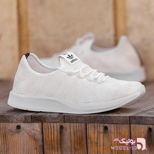 کفش مردانه Adidas مدل F10046 سفید كتانی مردانه