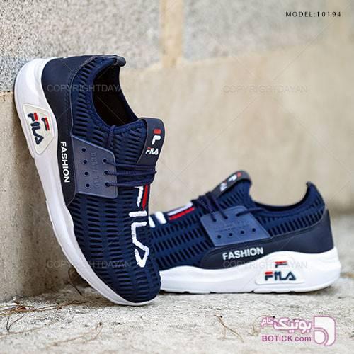 کفش مردانه Fila مدل 10194 سورمه ای كتانی مردانه