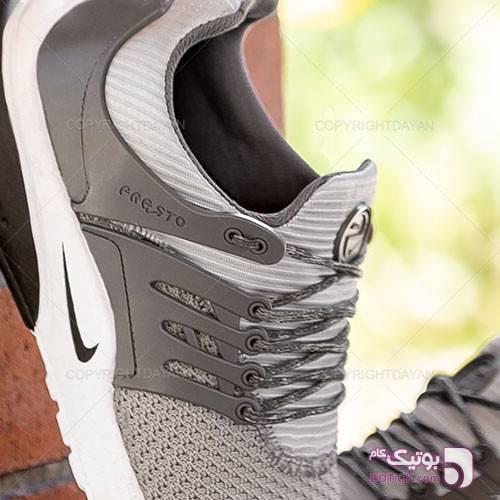 کفش مردانه Nike مدل 10353 طوسی كتانی مردانه