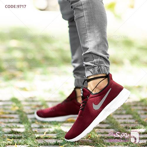 کفش مردانه Nike مدل F9717 قرمز كتانی مردانه