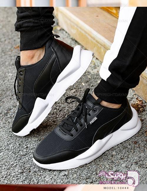 کفش مردانه Puma مدل 10444 مشکی كتانی مردانه
