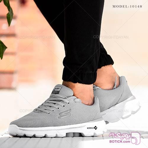 کفش مردانه Skechers مدل 10148 طوسی كتانی مردانه