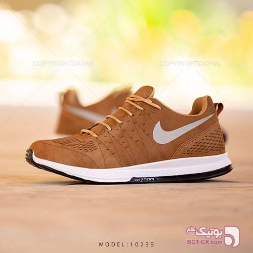 کفش مردانه Nike مدل 10299 قهوه ای كفش مردانه