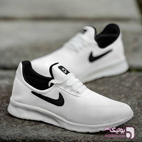 کفش مردانه Nike مدل K9367 سفید كتانی مردانه