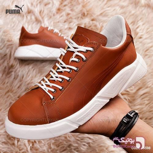 کفش Puma مدل K9598 قهوه ای كفش مردانه