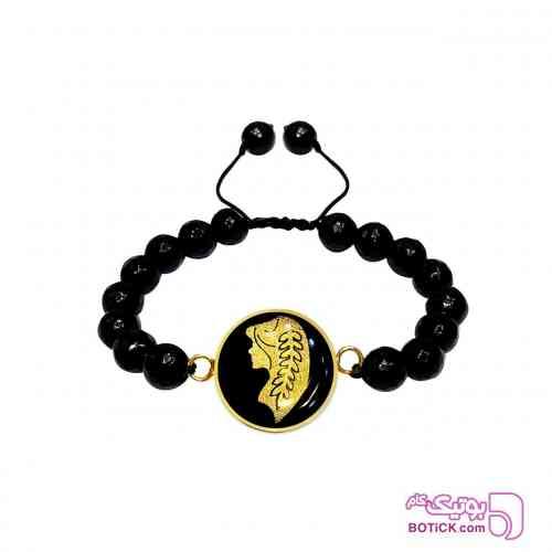 دستبند ورق طلا نماد ماه تولد شهریور - دستبند و پابند