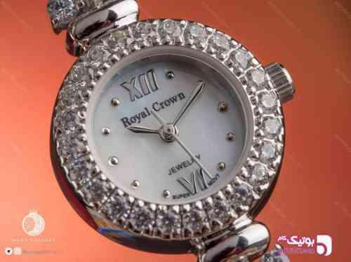ساعت نقره زنانه رویال W05 - ساعت