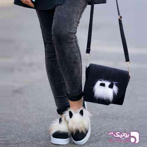 کیف و کفش ست طرح خرگوشی - كفش زنانه