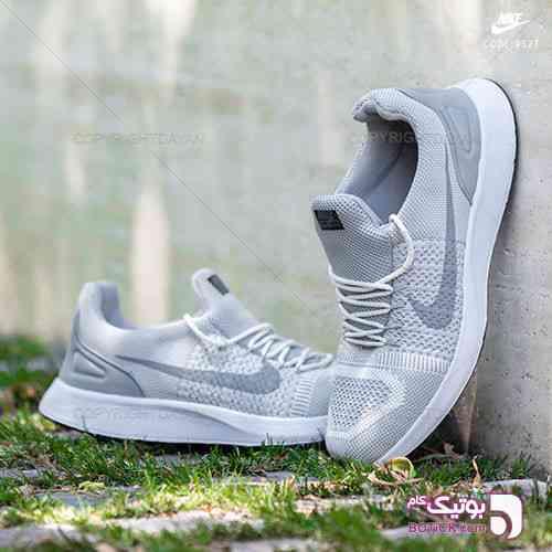 کفش مردانه Nike مدل Q9527 نقره ای 98 2019