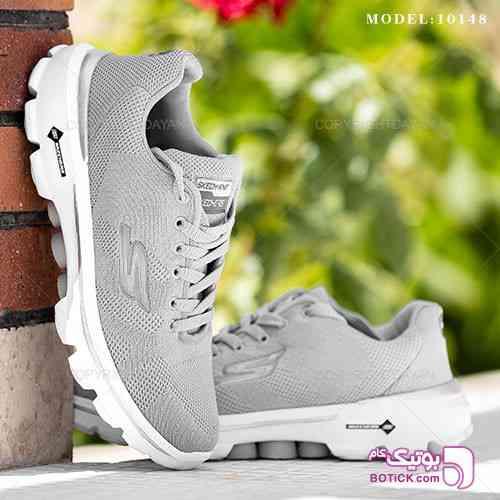 کفش مردانه Skechers مدل 10148 نقره ای 98 2019