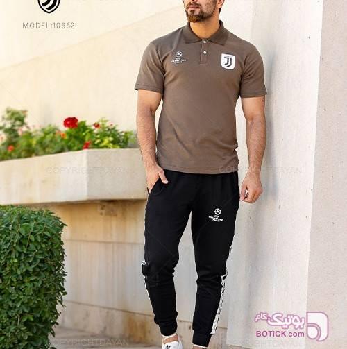 پولوشرت و شلوار مردانه Juventus مدل10662 مشکی تی شرت و پولو شرت مردانه