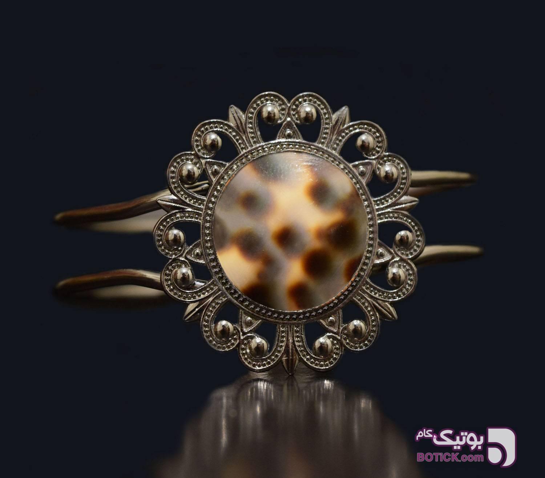 دستبند صدفی مشکی دستبند و پابند