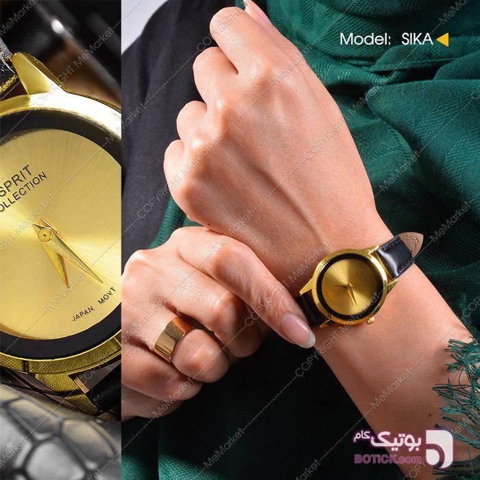 ساعت دخترانه ESPRIT مدل SIKA زرد ساعت