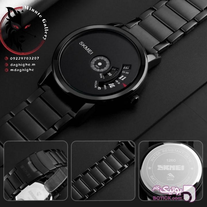 ساعت مچی مردانه اسکمی مشکی ساعت
