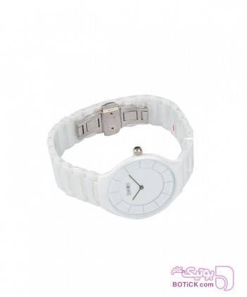 ساعت مچی مردانه جین وست Jeanswest مدل 82900082 سفید ساعت