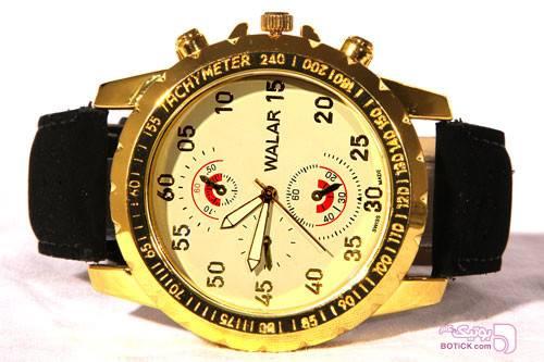 ساعت مچی مردانه WALAR-کد11839 مشکی ساعت