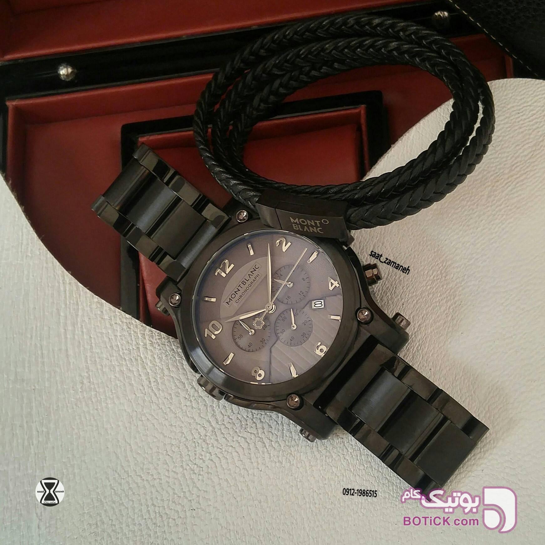MONTBLANC مردانه  مشکی ساعت