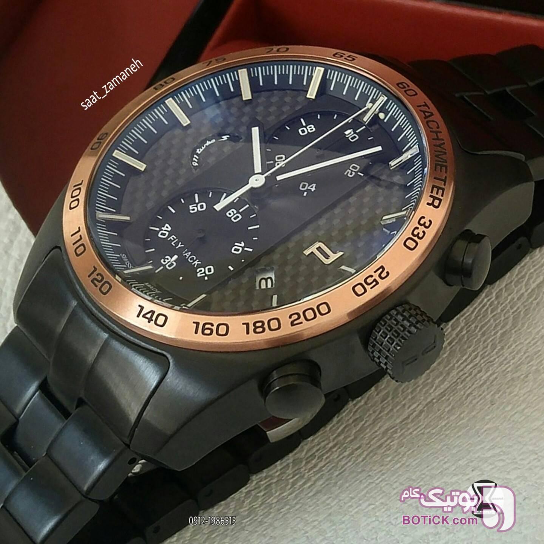 PORSCHE design مردانه مشکی ساعت